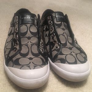 Black Coach shoes